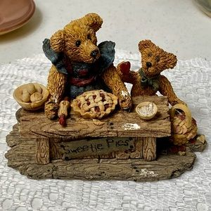 1994 Boyds Bears Sweetie Pies From Bearstone Col.